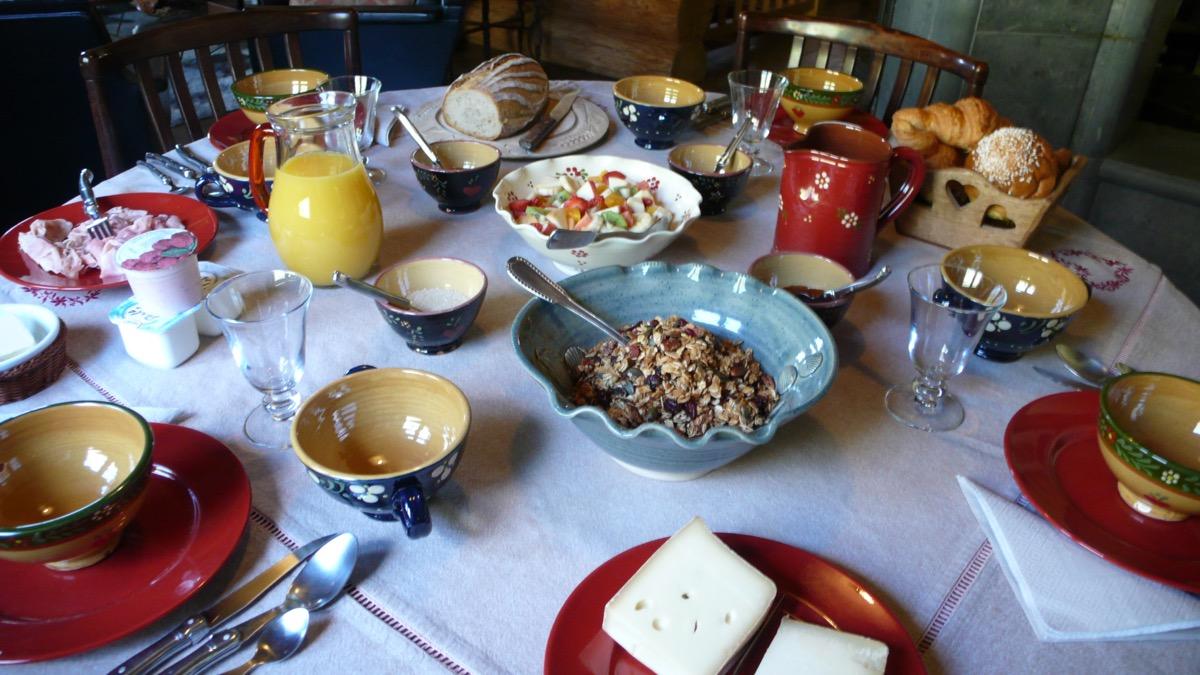 Enjoy hearty breakfasts
