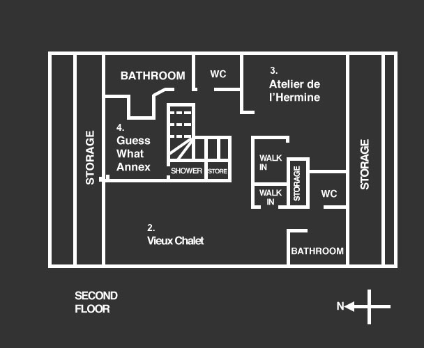 chalet chatelet floor plan